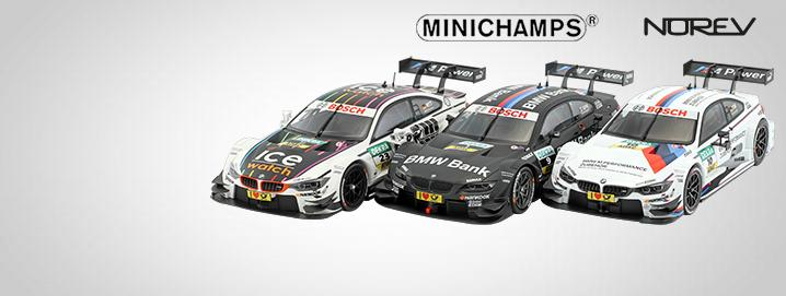 DTM SALE %% BMW DTM models in 1:43 and 1:18 greatly reduced