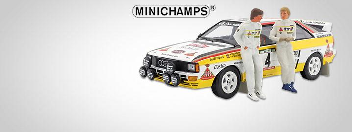 novelty Audi Quattro A2 Rally de Portugal 1984 1:18 Minichamps