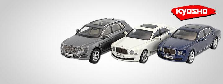Kyosho SALE %% Modèles Bentley 1:43 