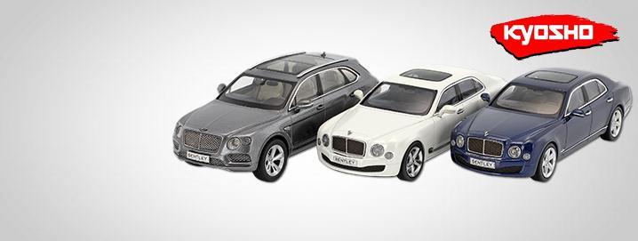 Kyosho SALE %% Modèles Bentley 1:43  VENDUES