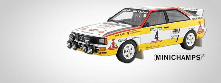 Exclusive Audi Quattro A2  Rally Portugal 1984