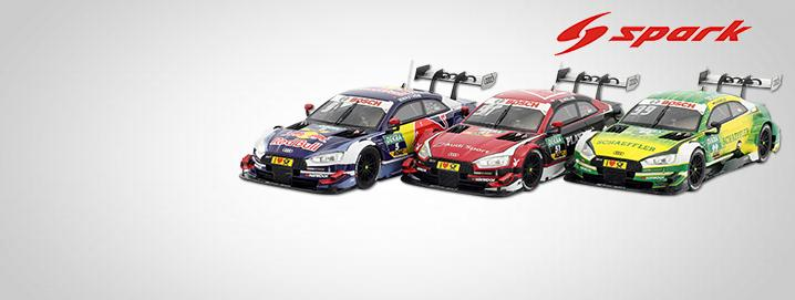 DTM models Audi RS 5 DTM 1:43 Spark