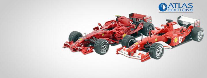 special offer Formula 1 models in 1:43 in special offer!
