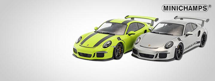 Minichamps novelty Porsche 911 (991) GT3 RS 1:18