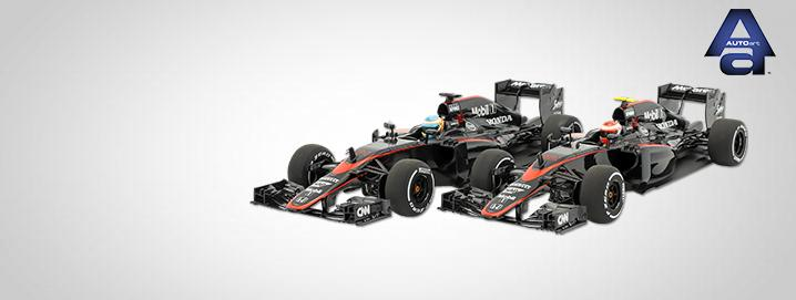 AUTOart SALE %% Fernando Alonso & Jenson Button 
