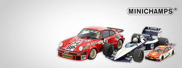 Minichamps SALE %% Various Minichamps racing 