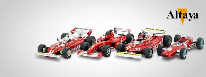 Altaya %% SALE %% Formula 1 vehicles in 1:43 