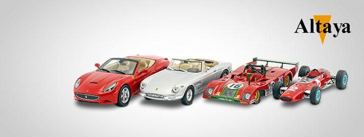 Altaya %% SALE %% Estradas da Ferrari, corridas e carros  modelo de Fórmula 1 a partir de 4,95 €