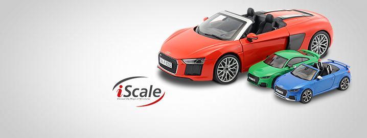 Audi SALE Il modello Audi in 1:18 e 1:43  si è notevolmente ridotto!