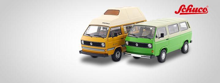 Sonderangeot Volkswagen VW T3 Bus 1:18 Schuco