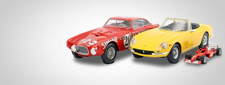 Ferrari modelcars We offer high-quality Ferrari