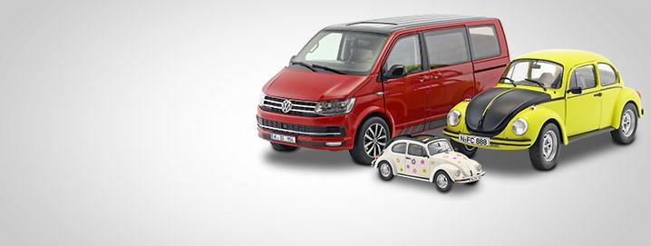 VW modelcars We offer high-quality VW model cars in the scales 1:43  and 1:18 at reasonable prices.