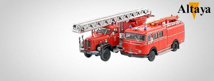 Altaya SALE %%% Modelos de bombeiros  grandemente reduzidos!