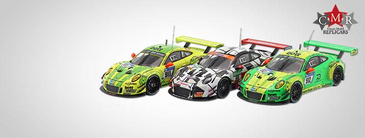 Porsche 911 (991) GT3 R Porsche Nyheder  fra CMR i 1:43
