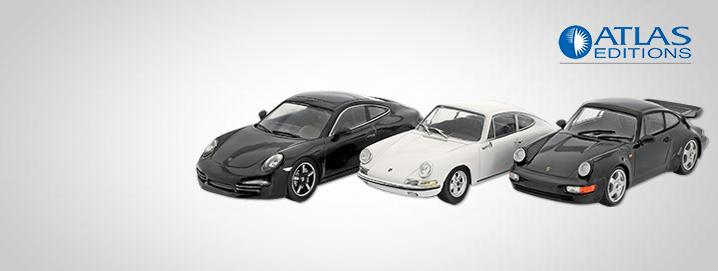 Atlas SALE %% Numerous Porsche models  from Atlas in the special offer!