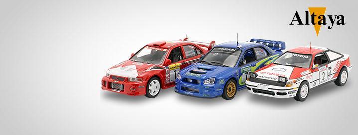 Altaya SALE %% Varios modelos de rally  de Altaya reducidos