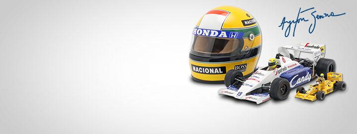 F1 legend Ayrton Senna Numerous Formula 1 cars from the 
