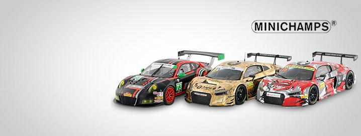 Minichamps SALE %% Audi R8 LMS and Porsche 911 GT3 R reduced by up to 50%!