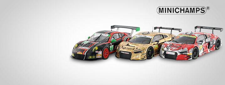 Minichamps SALE %% Audi R8 LMS und Porsche 911 GT3 R  bis zu 50% reduziert!