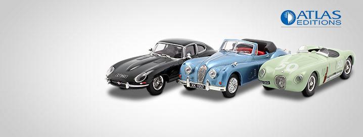 speciale aanbieding Jaguar-modellen in 1:43  sterk verlaagd!