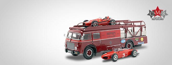 New: Bartoletti Ferrari Truck Fiat 642 RN2 Bartoletti  Ferrari Truck with  matching load
