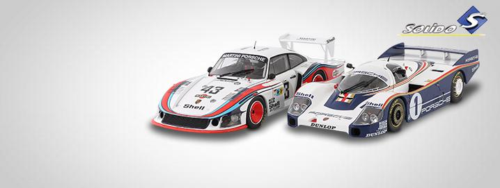 Solido novelties Porsche racing models