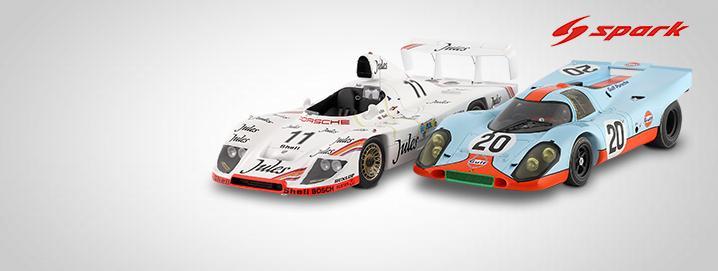 Nye hits Porsche-modeller fra Spark