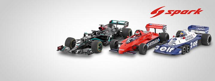 New hits Formula 1 models from Spark