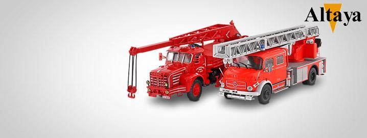 Brandweer VERKOOP Internationale  brandweerwagens  in de aanbieding
