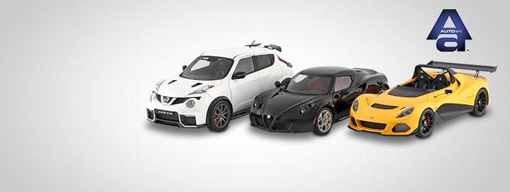 AUTOart SALE % AUTOartモデルが大 幅に削減されました!