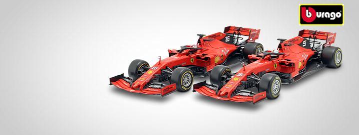 Formule 1 % UITVERKOOP % Bburago Ferrari SF90  vanaf € 39,95