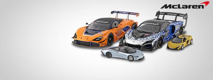 McLaren SALE % クリアランスモデル 1:18および1:43