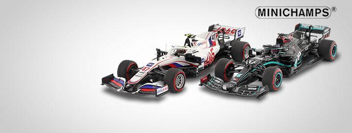 新しいヒット曲 ミニチャンプスの F1ノベルティ