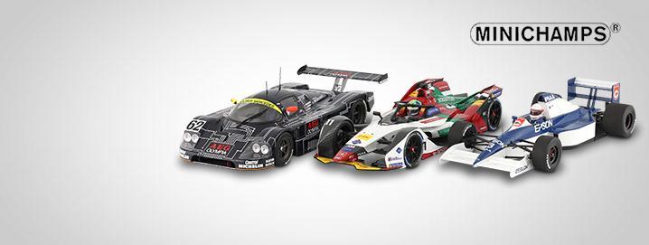 Minichamps Motorsport SALE Minichamps modellen  sterk gereduceerd!
