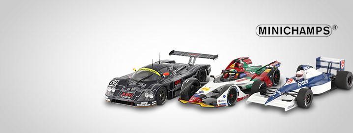Minichamps Motorsport SALG Minichamps -modeller  stærkt reduceret!